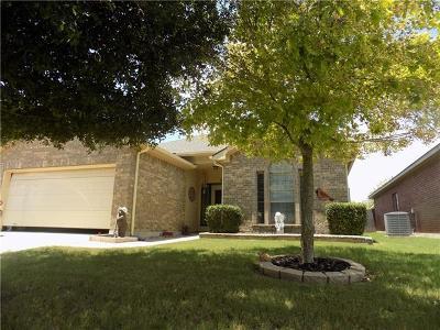 Jarrell Single Family Home For Sale: 204 Brickyard Ln