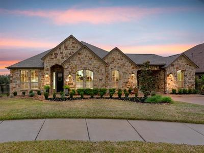 Round Rock Single Family Home For Sale: 4507 Sansone Dr