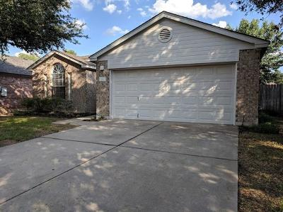 Georgetown Single Family Home Pending - Taking Backups: 313 Katy Xing