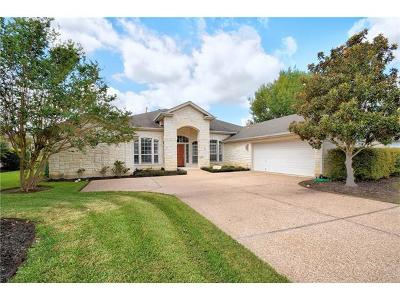 Hays County, Travis County, Williamson County Single Family Home Pending - Taking Backups: 11104 County Down Dr