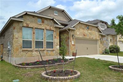 Round Rock Single Family Home For Sale: 3323 Hidalgo Loop