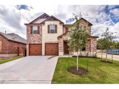 Leander Single Family Home For Sale: 1637 Uhland Dr