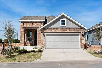 Round Rock Single Family Home For Sale: 7606 Rubel Way