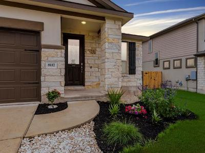 Round Rock Single Family Home For Sale: 8117 Pescara Cv