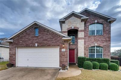Leander Single Family Home For Sale: 2606 Branding Iron Ln
