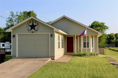 Bastrop Single Family Home Active Contingent: 107 Hawea Ln