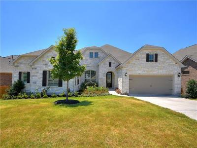 Lago Vista Single Family Home For Sale: 7500 Pace Ravine Dr