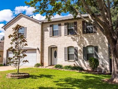 Cedar Park Single Family Home For Sale: 1707 Blue Bell Dr