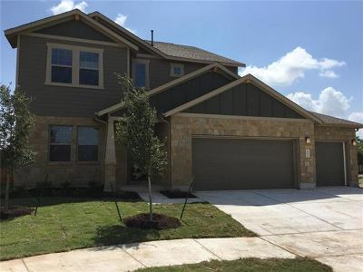 Hutto Single Family Home For Sale: 402 Hereford Loop