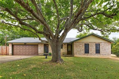 Cedar Park Single Family Home For Sale: 2700 Cypress Ln