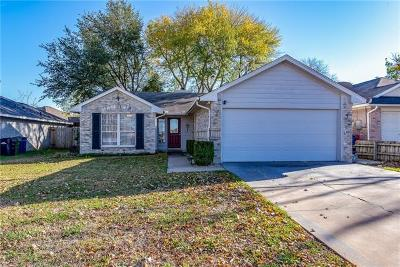 Leander Single Family Home Pending - Taking Backups: 1310 Tamarac Trl