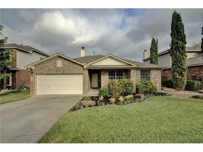 Leander Single Family Home For Sale: 1105 Middle Brook Dr