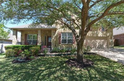 Round Rock Single Family Home For Sale: 3257 Goldenoak Cir