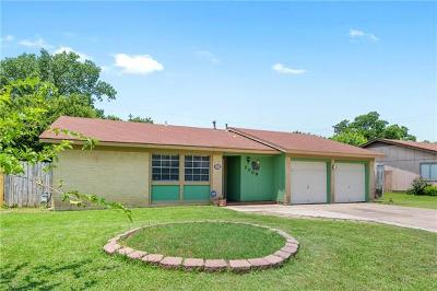 Round Rock Single Family Home For Sale: 2009 Heathwood Cir