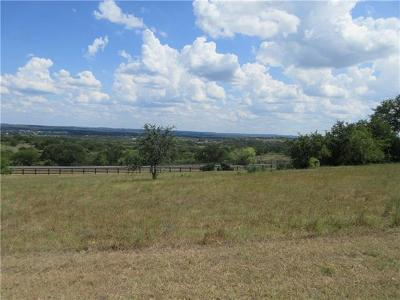Spicewood Residential Lots & Land For Sale: 1409 Majestic Hills Blvd