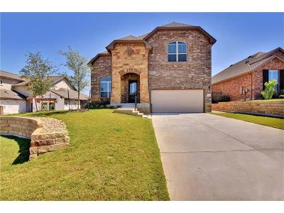 Spicewood Single Family Home For Sale: 22309 Chipotle Pass