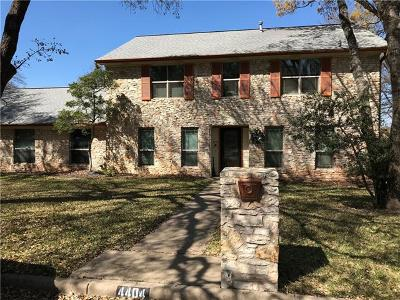 Single Family Home For Sale: 4404 Flagstaff Dr