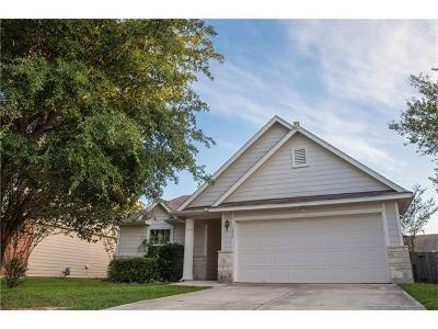 Kyle Single Family Home For Sale: 1274 Beechwood Dr