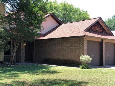 Travis County, Williamson County Single Family Home Pending - Taking Backups: 11701 Tanglebriar Trl