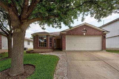 Pflugerville Single Family Home For Sale: 17717 Loch Linnhe Loop