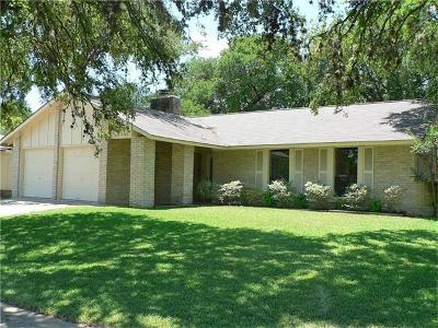 Austin Single Family Home Pending - Taking Backups: 7300 Eganhill Dr