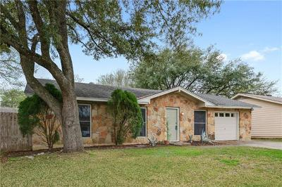 Austin Single Family Home For Sale: 2609 Berkett Dr