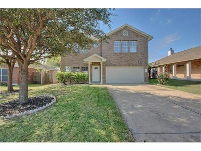 Round Rock Single Family Home For Sale: 908 Terra St