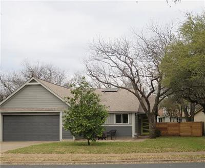 Austin Single Family Home Pending - Taking Backups: 5106 Ganymede Dr