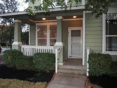 Cedar Park Single Family Home Pending - Taking Backups: 217 N Lynnwood Trl