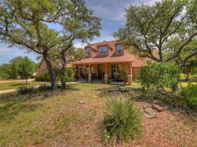 Burnet County Single Family Home For Sale: 850 Rocky Hollow Dr