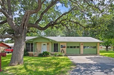 Marble Falls Single Family Home Pending - Taking Backups: 103 Lark Rd