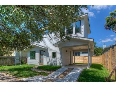 Travis County Single Family Home For Sale: 5511 Avenue G #Bldg 2