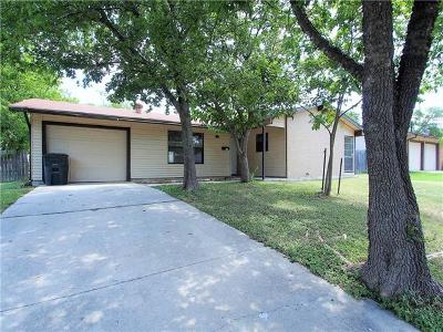 Killeen Single Family Home For Sale: 1518 Meadow Dr