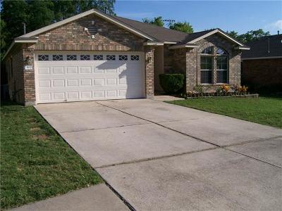 Leander Single Family Home For Sale: 907 Middle Brook Dr