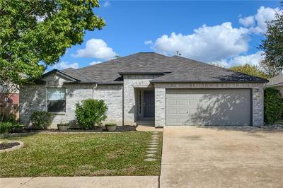 Cedar Park Single Family Home For Sale: 1708 Hollow Ridge Dr