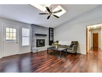 Round Rock Single Family Home Pending - Taking Backups: 1609 Picnic Cv