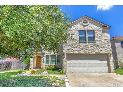 Leander Single Family Home For Sale: 204 Rim Rock Dr