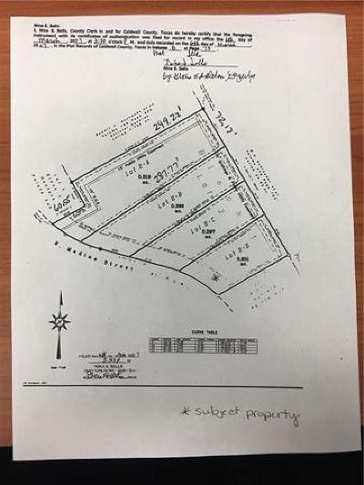 Lockhart Residential Lots & Land For Sale: 1402 S Medina St