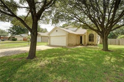 Cedar Park Single Family Home For Sale: 1222 Brashear Ln