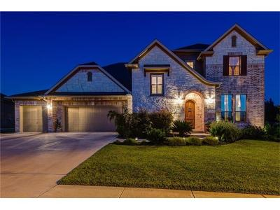 Cedar Park Single Family Home For Sale: 3114 Castellano Way