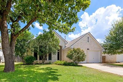 Leander Single Family Home For Sale: 16303 Lone Wolf Dr