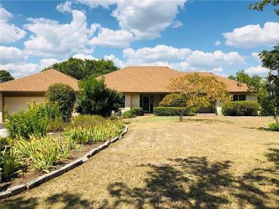 Burnet County Single Family Home Active Contingent: 5927 S Fm 1174