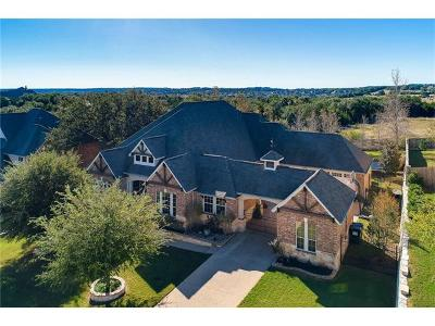 Austin Single Family Home Active Contingent: 163 Open Sky Rd