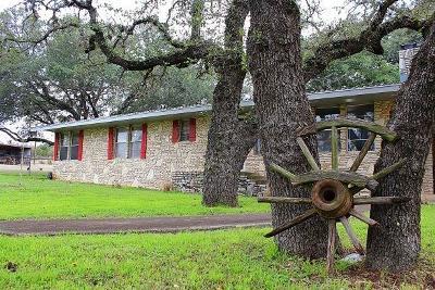 Blanco Single Family Home For Sale: 1614 Kendalia Rd