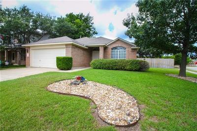 Cedar Park Single Family Home For Sale: 2111 Zoa Dr