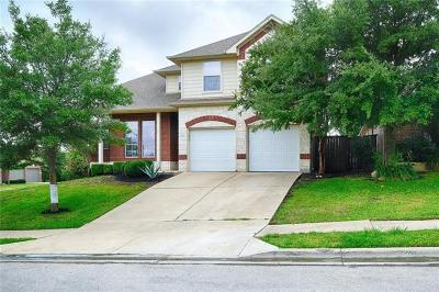 Round Rock Single Family Home For Sale: 1112 Hidden View Pl