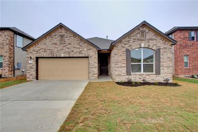 Round Rock Single Family Home For Sale: 7920 Bassano Dr