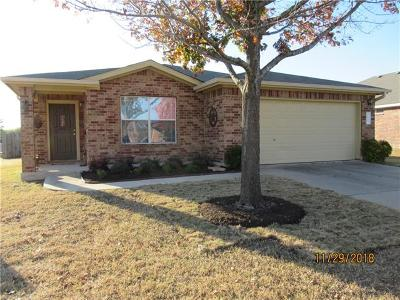 Leander Single Family Home For Sale: 315 Katherine Way