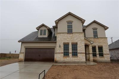 Round Rock Single Family Home For Sale: 3304 Balboa Way