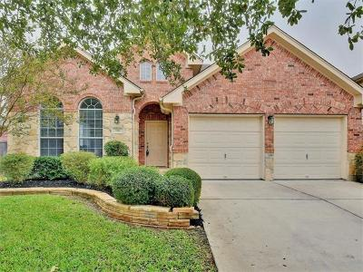 Round Rock Single Family Home For Sale: 544 Centerbrook Pl